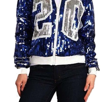 Sorority Zeta Phi Beta Inspired  Sequin Jacket 1