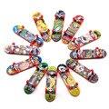 6 шт./компл. мини палец скутер из сплавы кронштейна реквизит Детские пластиковые игрушки на палец спортивные палец скейтборды