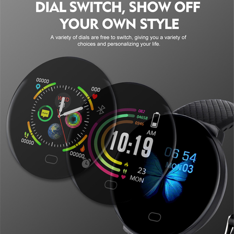 Smart Watch Men 1.3'' Screen Fitness Tracker Ip67 Waterproof Blood Pressure Heart Rate Monitor Smartwatch Woman For Android IOS 2