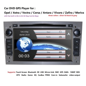 Image 2 - 2 الدين مشغل أسطوانات للسيارة ستيريو ل فوكسهول أوبل أسترا H G فيكترا انتارا زافيرا كورسا جفل مشغل أسطوانات للسيارة غس نافي عجلة القيادة RDS TV CAM DAB