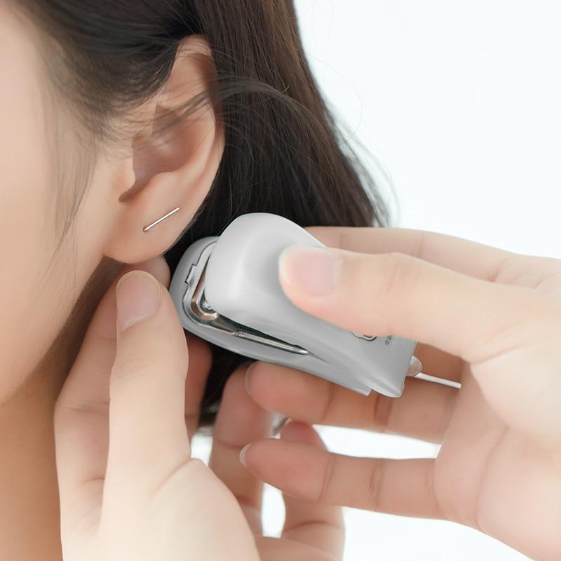 Trusta Genuine 925 Sterling Silver Cute Minimalist Staple Earrings Hoop Earring For Women Wedding Silver 925 Jewelry Gift DS1914