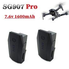 Oryginalna bateria Lipo 7.6V do SG907 5G GPS składany dron części zamienne 2s 7.6v 1600 mAh bateria do baterii SG-907 Pro SG907pro