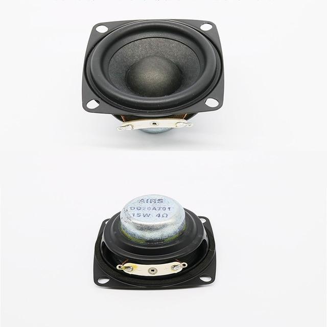 KYYSLB 20W 4 אוהם 8 אוהם 2 אינץ מלא תדר רמקול DIY גבוהה כוח ווקאלי מכשיר בית אודיו מגבר רמקול 1pcs