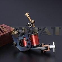 אחד 8 גלישת סלילים למעלה ברזל אוניית מכונת קעקוע אקדח עבור ערכת כוח סט אספקת HIM01 L