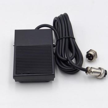цена на Free your Hand Metal Foot Pedal Foot Switch 1.8 Meters Cable 2 Pins connector Spot Welding Switch Tig Torch