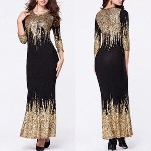 Бангладеш Дубай Абаи кимоно для Для женщин мусульманских Бурка арабский плотный Платье черного цвета осеннее платье с длинными рукавами Исламская одежда