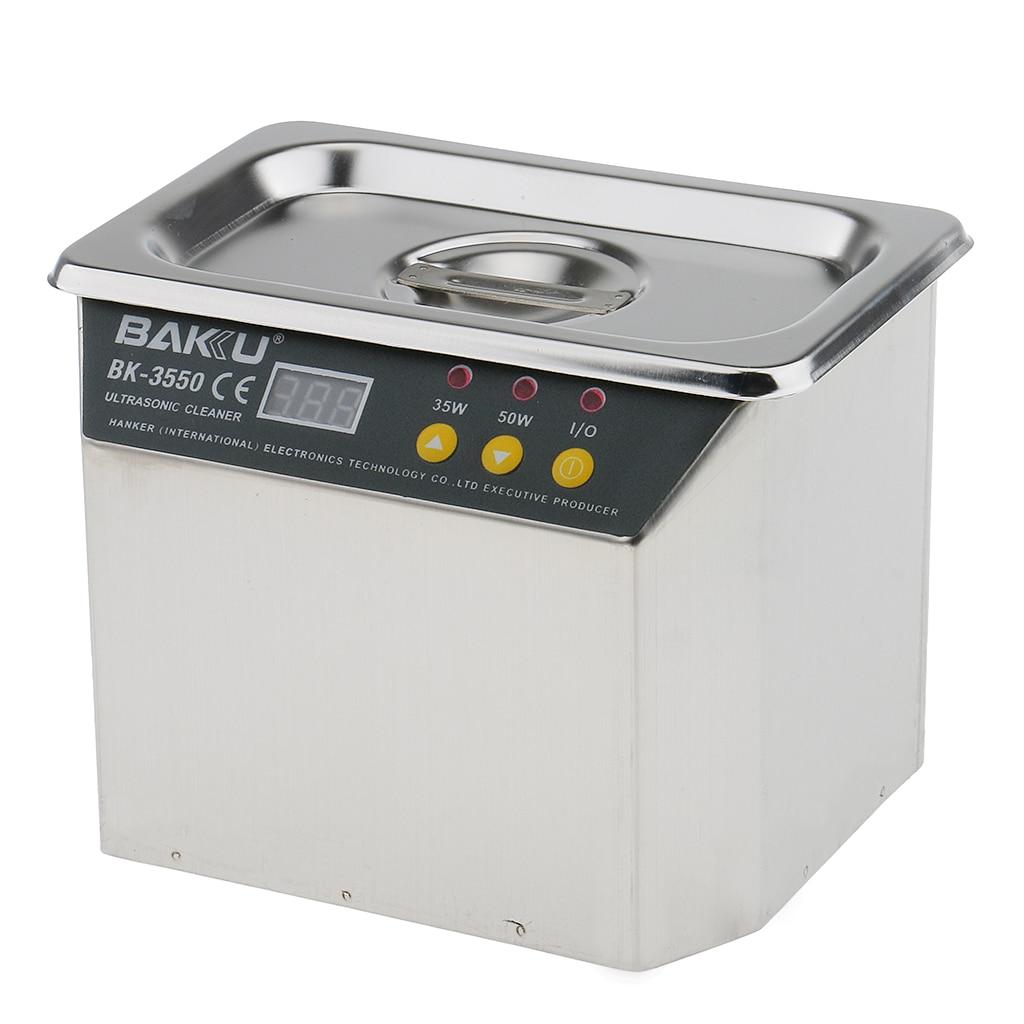 Machine de nettoyage ultrasonique de décapant de Digital approuvée par CE pour des pièces électroniques de prothèse de montre de bijoux-40 KHz 35/50W