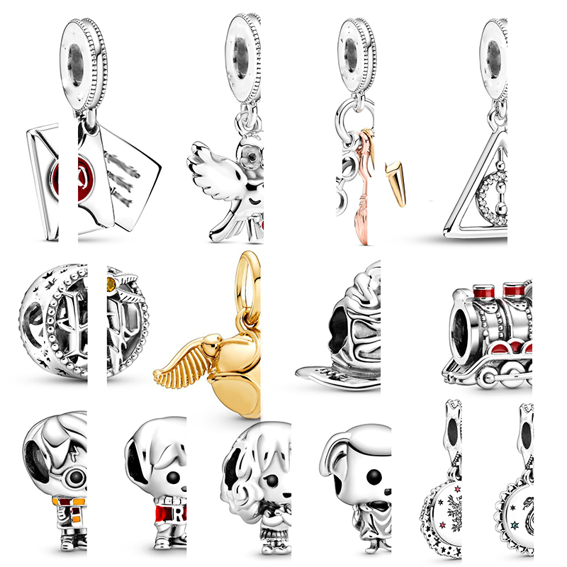 Movie Necklaces Bracelets Charm-Beads Pendant-Fit Jewelry-Making Kids Women Original