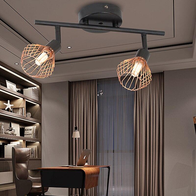 AC85V-265V 10W G9 Loft Vintage Ceiling Lamp Light LED Industrial Lamparas for Bedroom Bathroom Kitchen Living Room Luminaire #