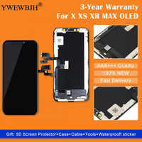 Grade AAA++ OEM OLED LCD  for iPhone X XR XS LCD Display Screen Replacement Repair Pairt with 3D Touch Digitizer Assembly