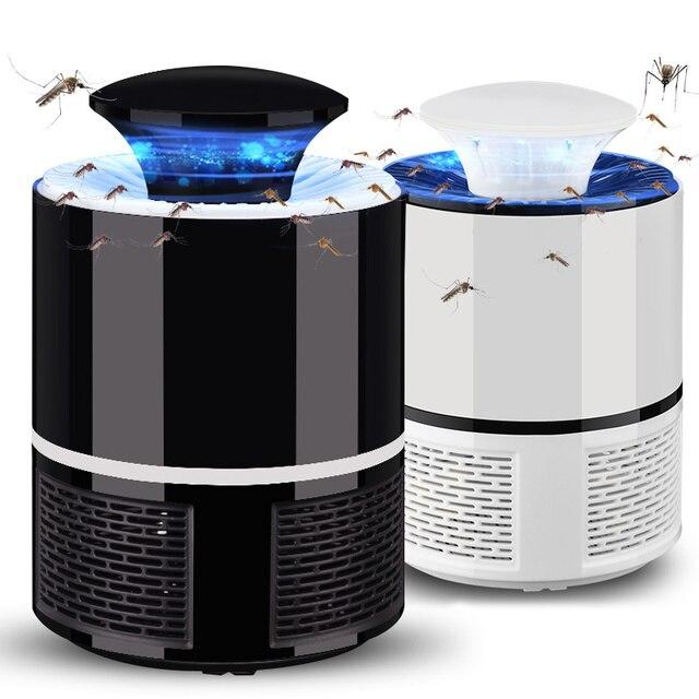 Электрическая УФ светодиодная ловушка для комаров с USB разъемом, электронная каталитическая ловушка для насекомых, ловушка для насекомых, неэлектрическая ловушка против комаров