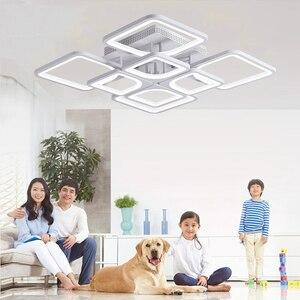 Image 1 - 2019 New led Chandelier For Living Room Bedroom Home lustre para sala Modern Led Ceiling Chandelier Lamp Fixtures lustre