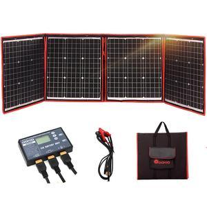 Гибкая Складная солнечная панель 160 Вт 18 в для дома, НАБОРЫ солнечных батарей для улицы, для кемпинга/лодки, солнечная батарея 12 В, солнечная ...