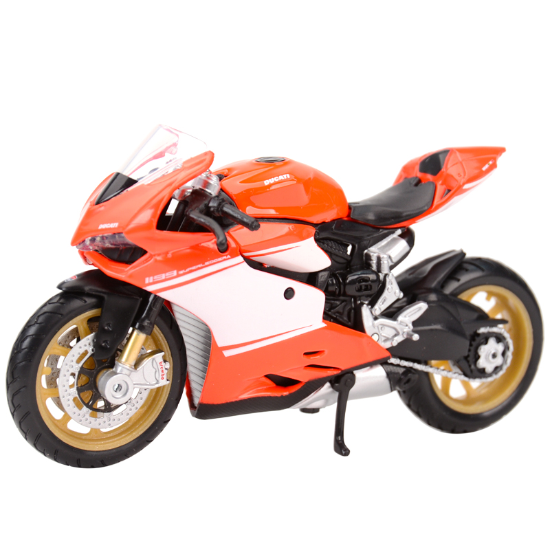 Maisto 1:18 Ducati-1199 Superleggera 2014 Static Die Cast Vehicles Collectible Hobbies Motorcycle Model Toys