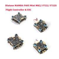 Diatone MAMBA F405 Mini MK2/F722/F722S Betaflight Flight Controller & F40 40A/F25 50A Bürstenlosen ESC für RC Drone Teile