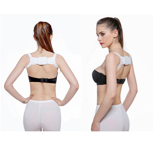 Hump Correction Belt Polyester Back Straightening Device for Adults and Children Posture Corrector Bone Care White Black