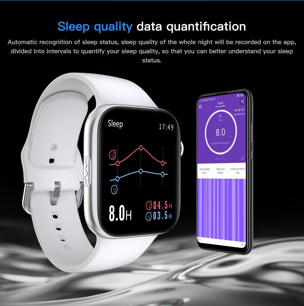 H21aae290d121409482077c0e6aaf2445z ECG Heart Rate Monitor Smart Watch 2020 Full Touch Screen SE03