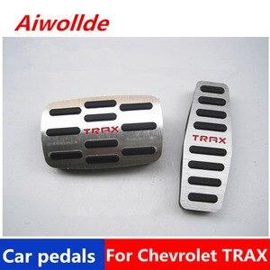Автомобильные аксессуары, алюминиевые автомобильные педали Для Chevrolet TRAX, педаль акселератора, педаль тормоза, педаль для ног