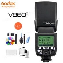 Godox VING V860IIO TTL Kamera Flash Master & Slave Flash Speedlite 2,4G Wireless X System 1/8000s HSS GN60 für Olympus Panasonic