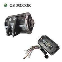 Qs 모터 120 2000 w 미드 드라이브 모터 스프로킷 428 및 em100sp 컨트롤러 전기 오토바이 z6 70kph 72 v