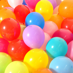 100Pcs birthday balloons 10inch Latex Helium balloon Thickening Pearl party balloon Party Ball kid child toy wedding ballons