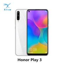 "Original HONOR Play 3 Honor Play3 โทรศัพท์มือถือ 6.39 ""Kirin710F Octa Core Android 9.0 Face Recognition GPU Turboโทรศัพท์มือถือ"