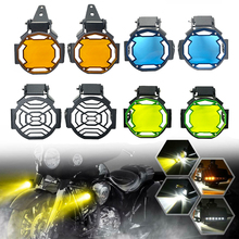 Motosiklet sis lambası lamba ışığı yüzey koruma izgara Grille koruyucusu BMW R1200GS R1200 GS R1250GS ADV LC F750GS F850GS S1000XR F900R