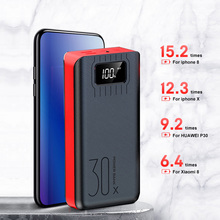 50000mah large capacity power bank fast charge mini portable ultra-thin compact mobile phone universal three-input