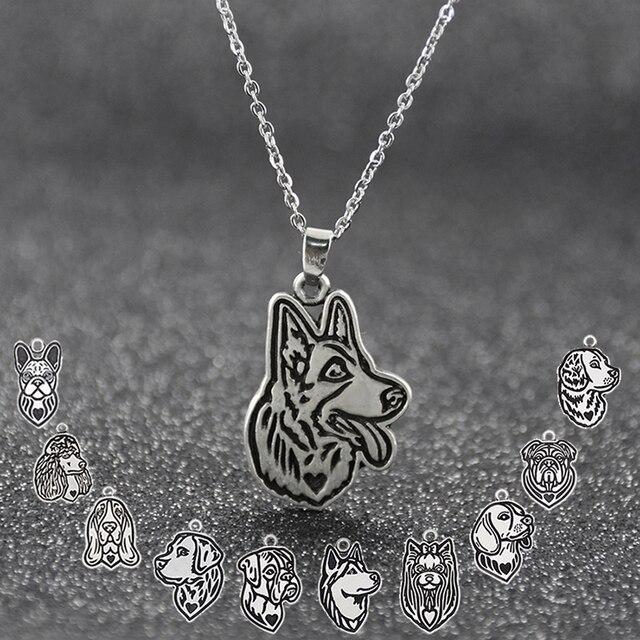 Dog 12 Style Pendant Necklace 2
