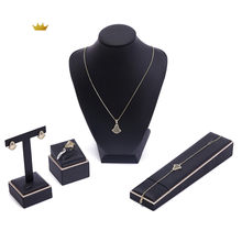 2020 June Moroccan Caftan wedding jewelry set for women fashion jewelry set copper high quality jewelry set(China)