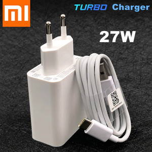 Xiaomi 27W Fast Charger Original QC 4.0 Turbo Charge Adapter Usb C for Mi 9 SE 9T 10 pro A3 Note 10 Redmi note 7 8 9 pro K30 Pro(China)