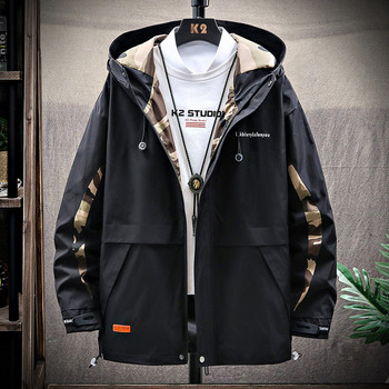 High Quality Tactical Jacket Winter Streetwear Hip Hop Autumn Hooded Windbreaker Hipster Jacket Casual Fashion Streetwear EE9JK