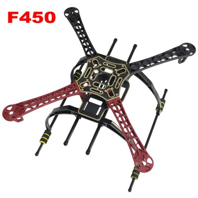 F450 Frame kit FPV Multicopter Quadcopter Frame with landing Gear +Arm+Board RC Drone Accessories DIY Combo