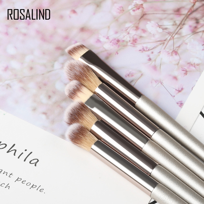ROSALIND <font><b>Eye</b></font> <font><b>shadow</b></font> <font><b>Applicator</b></font> Sponge Brush Stick Tricks Stamp <font><b>Eye</b></font> Makeup Palette Double Blacksmith <font><b>Applicator</b></font> Cosmetic Tools image