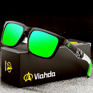 Image 1 - Viahda 2020 חדש מקוטב משקפי שמש גברים/נשים באיכות גבוהה פולארויד עדשת מותג עיצוב שמש משקפיים נקבה