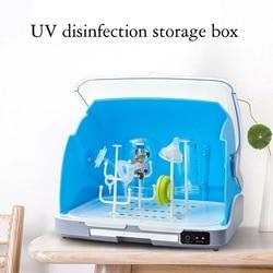Стерилизатор для бутылочек для молока, стерилизатор для дезинфекции, Ультрафиолетовый шкаф для дезинфекции, стерилизатор для детской посу...