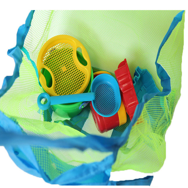 Outdoor Children's Beach Toys Quick Storage Bag Digging Sand Tool Clutter Storage Bag Foldable Portable Beach Bag Swimming Bag 6