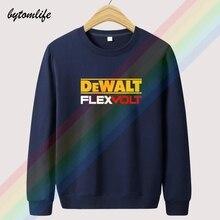 2021 New Fashion Dewalt Power Tools Logo Autumn Unisex Top Hoodie Mens Fashion Wool Clothing Sweatshirt Pullover Asian Size