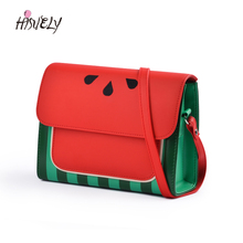 2020 New Cute Watermelon Bag Ladies Small Square Bag New