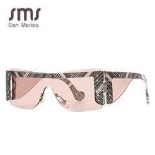2020 çerçevesiz kare güneş gözlüğü kadın erkek lüks marka ayna mavi tonları güneş gözlüğü kadın gözlük gözlük Oculos UV400 gözlük