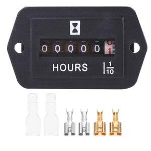Механический счетчик часов, таймер для дизельного бензинового двигателя, генератор HM002 HS для лодок, грузовиков, тракторов, автомобилей