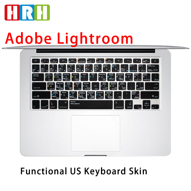 US TPU Keyboard Cover Skin Protector Compatible for Compatible for MacBook Pro 13 15 17 Air 13