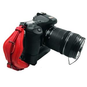 Image 4 - العالمي DSLR كاميرا جلدية اليد قبضة شريط للرسغ لوحة يناسب لكانون 1000D 550D 600D نيكون سوني فوجي فيلم كاميرا
