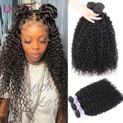 Unice włosów brazylijski włosy wyplata 3 zestawy/4 zestawy prosto/ciało fala/Culry włosów podwójne maszyna wątek 100% Remy ludzki włos