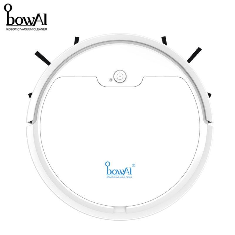 BowAI 2020 Neue Upgrade OB8s Roboter Staubsauger Multifunktionale 3 In 1 Auto Wiederaufladbare Trocken Nass Kehr 1600Pa Saug hause