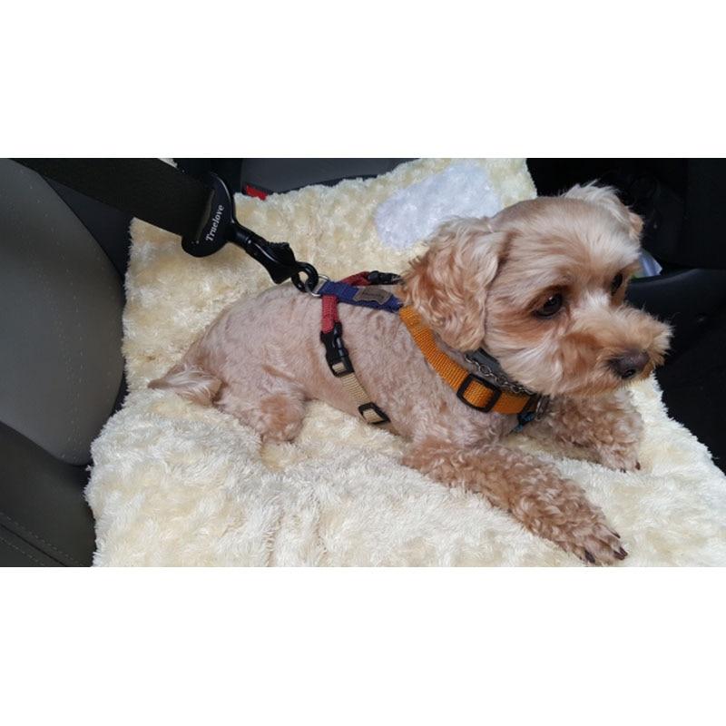 MySudui Truelove Vehicle Car Dog Seat Belt Lock Harness Collar Clip Pet Dog Car Seat Belt