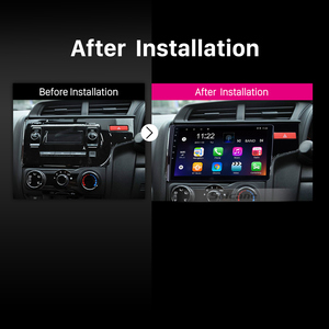 Image 3 - Seicane 10.1 Inch Quad core Android 10.0 Car Radio GPS Navigation Stereo Multimedia Player for 2014 2015 HONDA JAZZ/FIT (RHD)