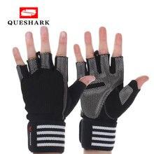 Мужские женские мужские гантели перчатки для поднятия веса спортзала