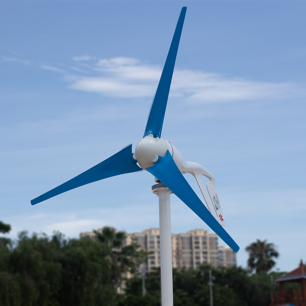 H21ae388da7a942d08af5480131583385D - Small Wind Turbine Generator 400W Mini Windmill WindTurbine Controller 3/5/6 blades Home gerador eolico Charge for Marine Boat