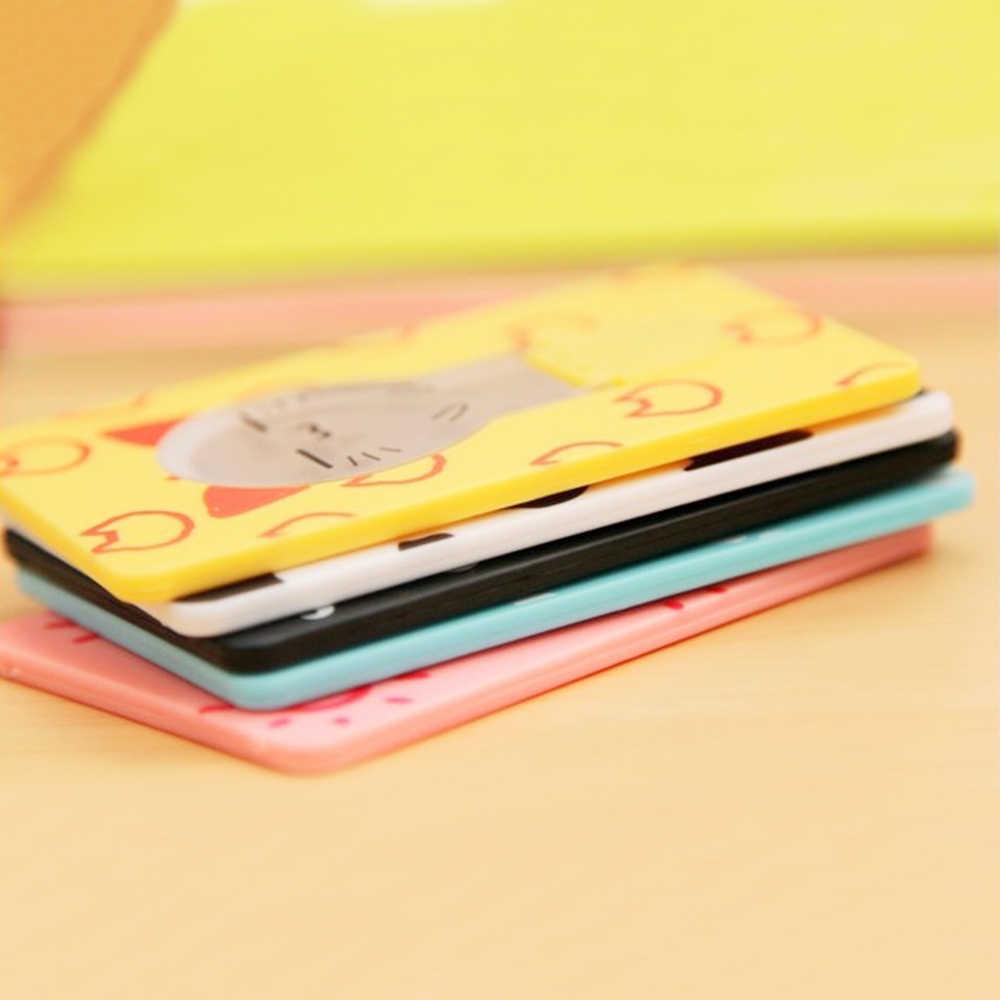 Składana karta LED latarka kieszonkowa żarówka lampa rozmiar karty kredytowej nietypowe oświetlenie przenośny Mini na portfel portmonetka stojak w kształcie karty
